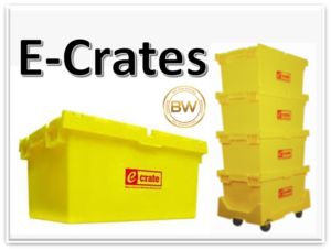 Green Movers Los Angeles use E-Crates
