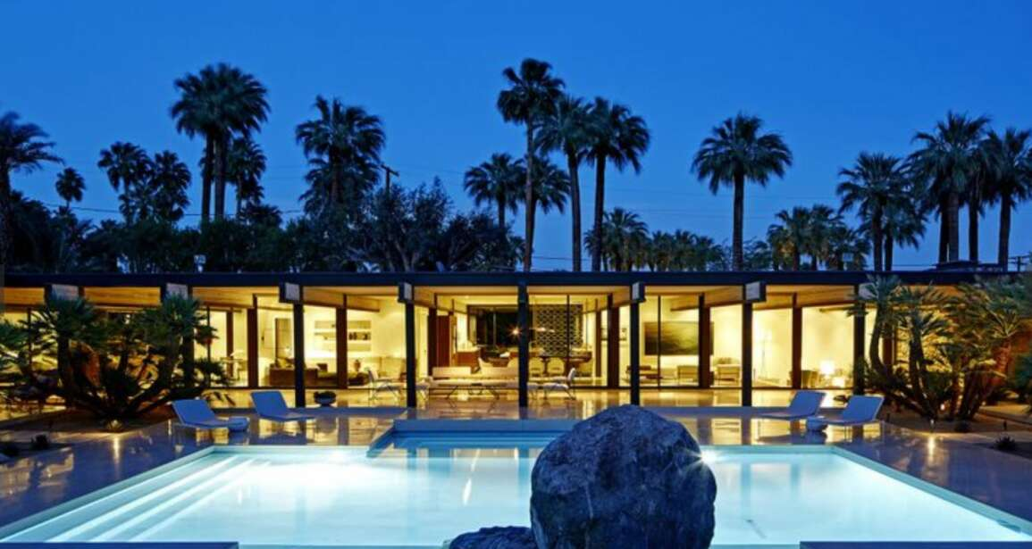 In Palm Springs a record 9 million dollar sale showcases the Midcentury craze