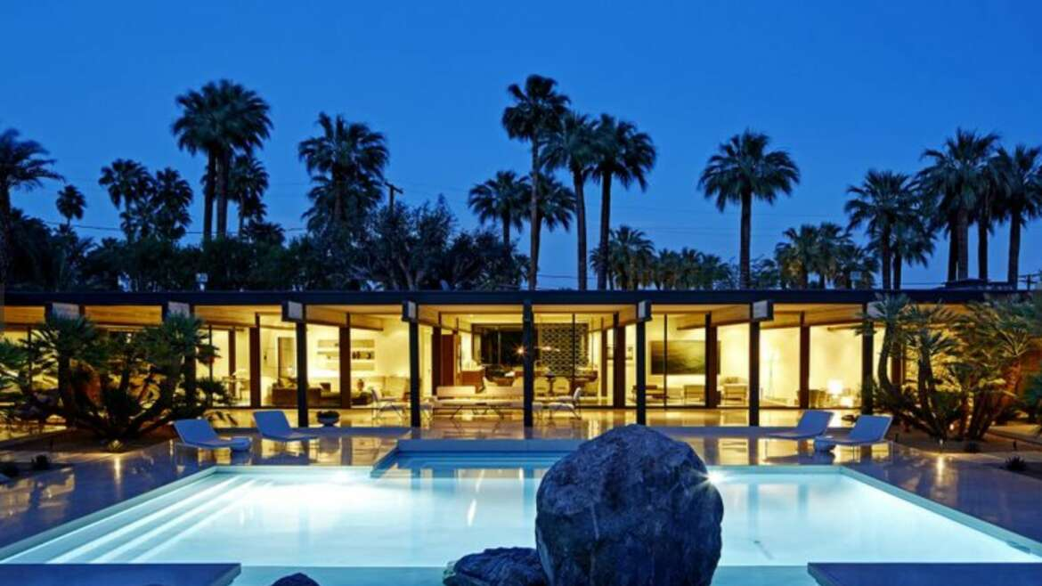 In Palm Springs A Record 9 Million Dollar Home Sale Showcases New Craze