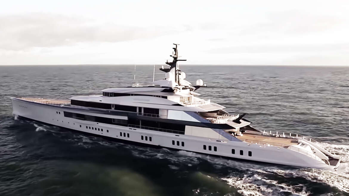 Dallas Cowboys Jerry Jones 250 Million Superyacht