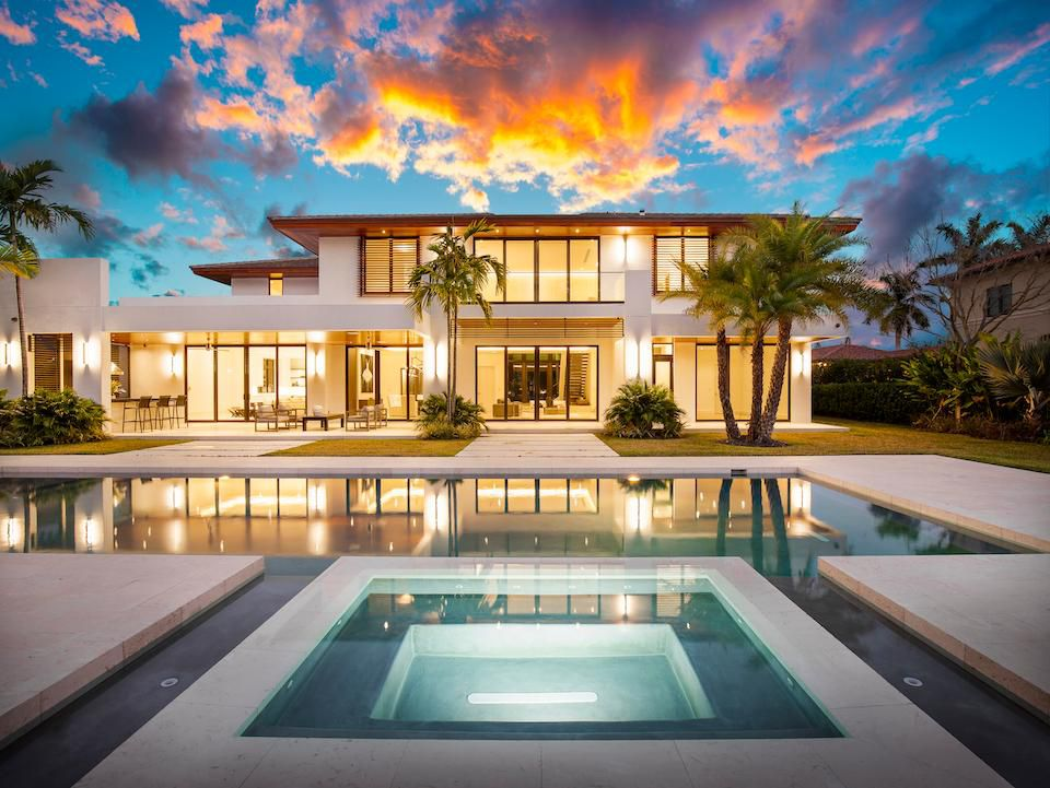 Wine Collectors Will Love This $5.5 Million Mansion In Pinecrest Florida