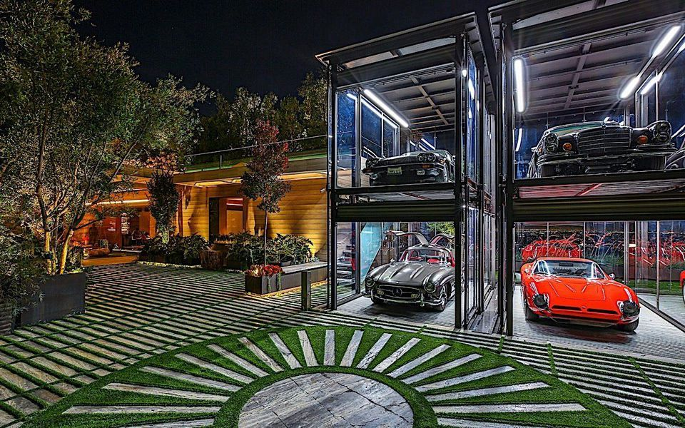 Asking $88 Million, The Latest Spec House For Bel Air Comes With Car Lift