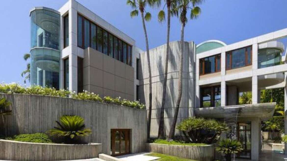 Luxury Homes: Massive 75M Beverly Hills Mansion