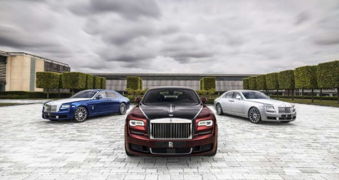 Luxury Living: Rolls Royce Zenith Collection