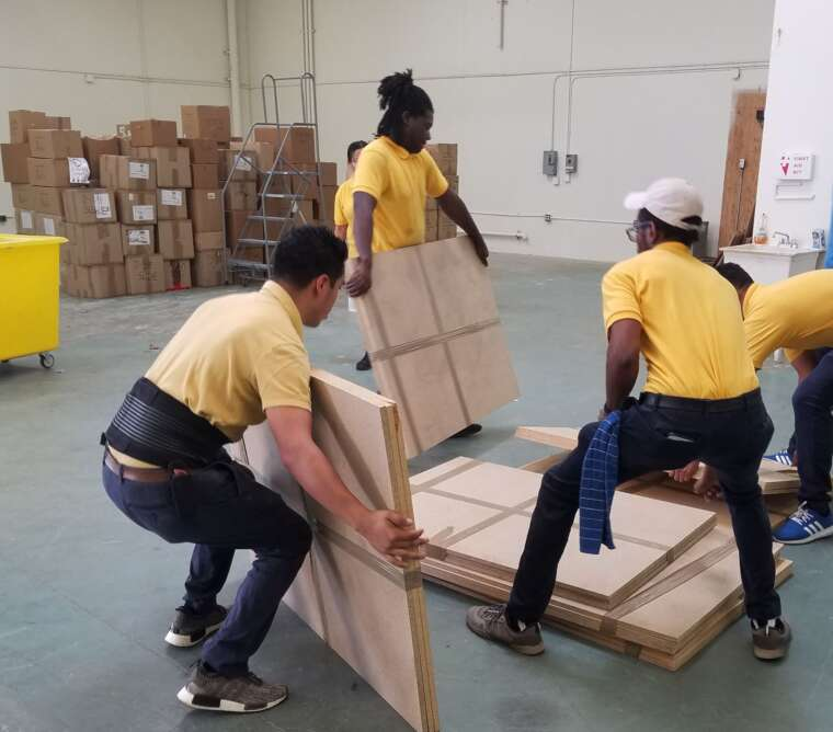 Arizona Relocating Warehouse Movers 888-378-1788